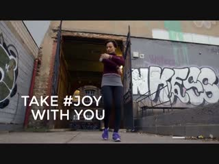 globio #JOY als Bodyguard